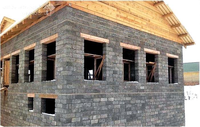 Дом из пенополистирола - как построить дом из блоков пенополистирола?
