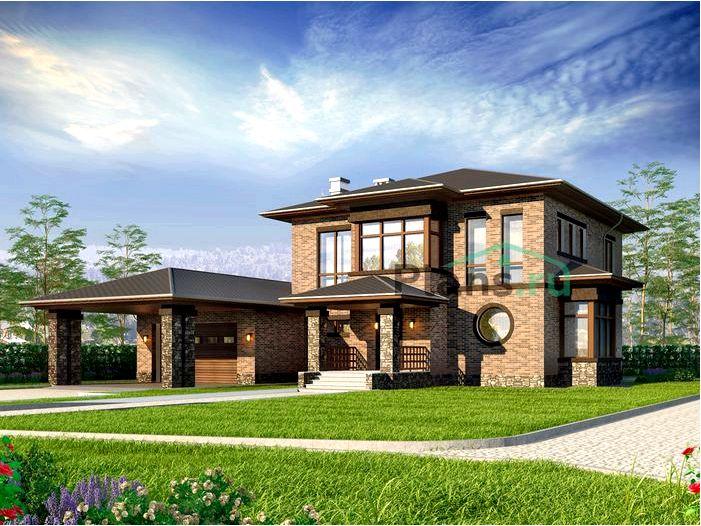 Двухэтажный дом или мансарда?