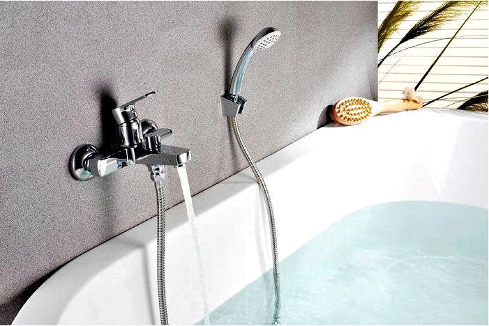 Смеситель для ванны - напольный, настенный или скрытый - какой смеситель для ванны выбрать?