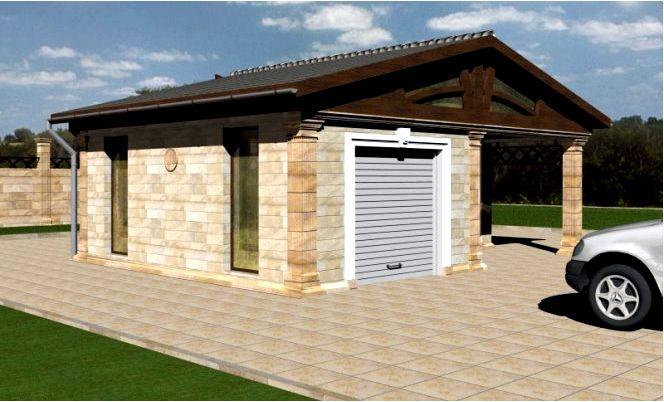 Строительство гаража - сколько стоит построить гараж?