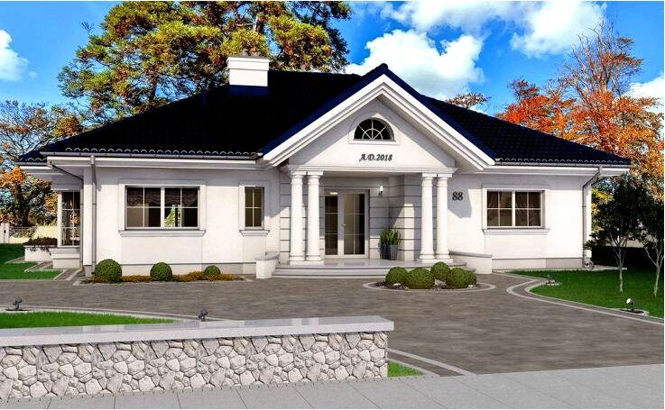 Усадебный дом - почему стоит выбрать дизайн усадебного дома?