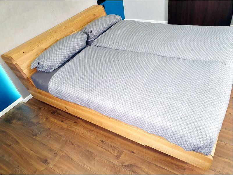 Деревянная кровать для спальни kobe - интернет магазин мебели - современная мебель, дизайнерская мебель