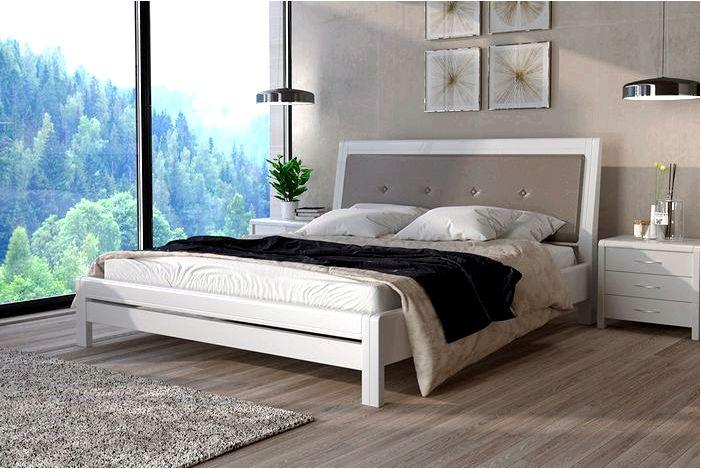 Деревянные кровати для спальни