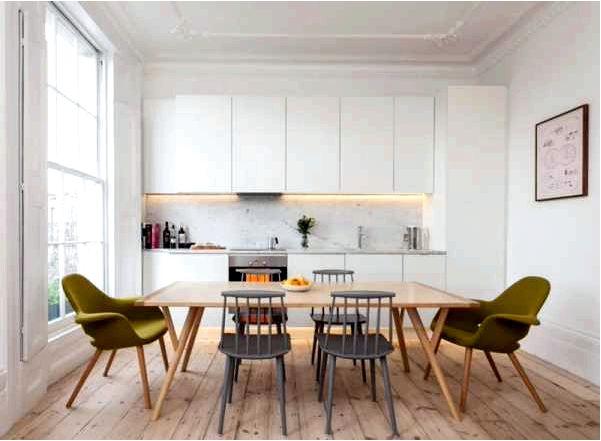 Как выбрать стол и стулья для кухни или столовой seart
