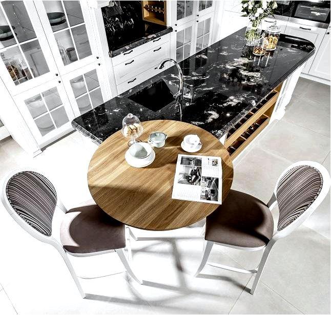 Как выбрать стул для кухонного острова в кухне, открытой в гостиную