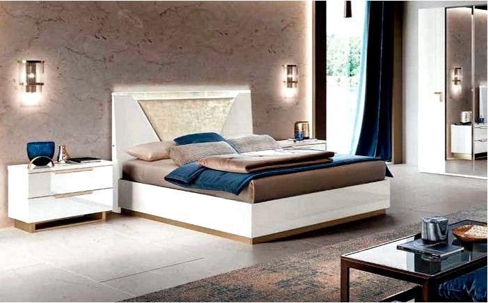 Современные и дизайнерские кровати для спальни из массива дерева - desiq