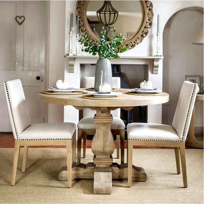 Стол для столовой - круглый или прямоугольный
