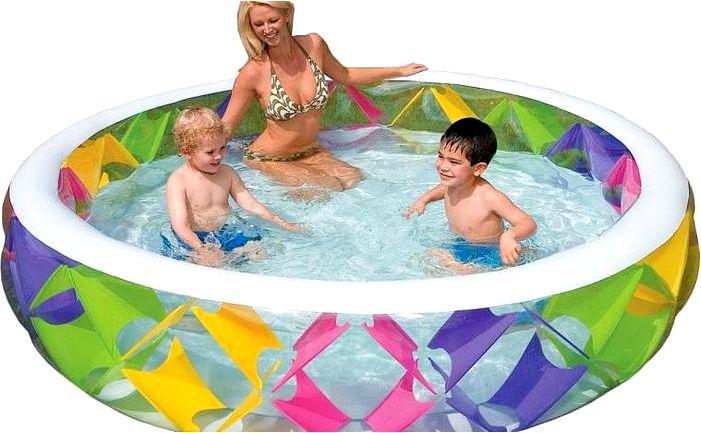 Садовый бассейн - какой выбрать для ребенка?
