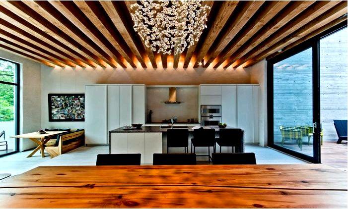 Декор деревянный на потлке