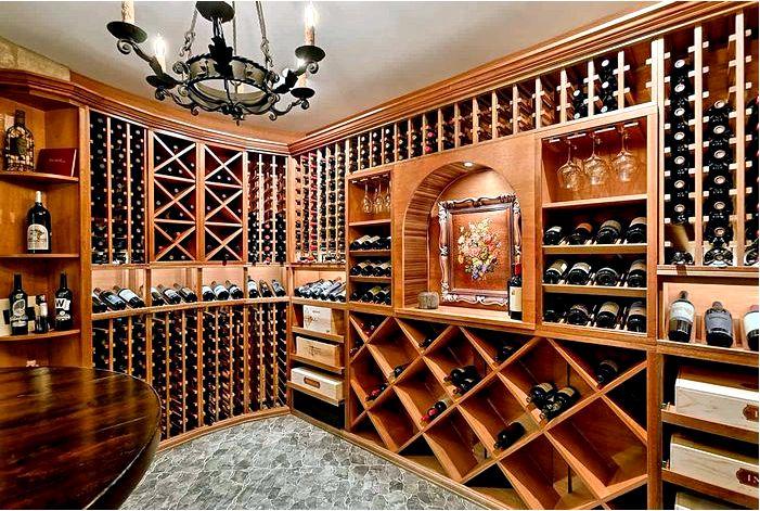 Где разместить винный стеллаж?