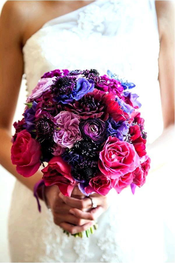 Свадебные букеты для каждого сезона - Свадьба и прием в двух словах