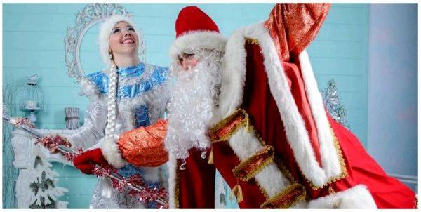 Вызываем Деда Мороза